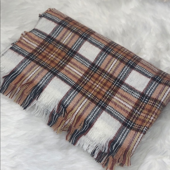 Plaid H&M Blanket Scarf